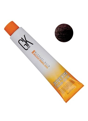 Gk Haır GK Hair Juvexin Cream Color Saç Boyası 100 ml 5.99 Çikolata Renksiz